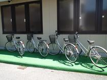 無料貸出自転車【5台】